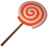 96x96px size png icon of lolly spiral
