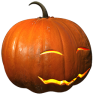 96x96px size png icon of pumpkin smile