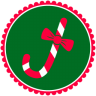 96x96px size png icon of Christmas Candy Cane