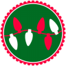 96x96px size png icon of Christmas Lights