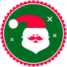 96x96px size png icon of Christmas Santa Claus