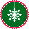 96x96px size png icon of Christmas Snow Flakes 2
