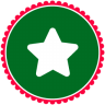 96x96px size png icon of Christmas Star