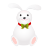 96x96px size png icon of rabbit long ears