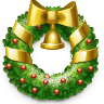96x96px size png icon of Wreath