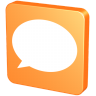 96x96px size png icon of Forum Orange