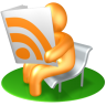 96x96px size png icon of RSS Reader