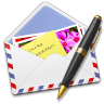 96x96px size png icon of AirMail Photo Pen