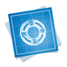 96x96px size png icon of designfloat