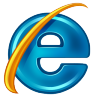 96x96px size png icon of InternetExplorer