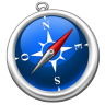 96x96px size png icon of Safari FR