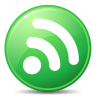 96x96px size png icon of Feeds Green