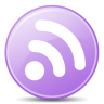 96x96px size png icon of Feeds Lilac