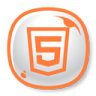 96x96px size png icon of HTML5