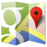 96x96px size png icon of Google Maps