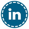 96x96px size png icon of Linkedin