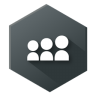 96x96px size png icon of Myspace