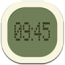 96x96px size png icon of clock digital 2