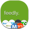 96x96px size png icon of feedly