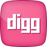 96x96px size png icon of Active Digg