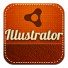 96x96px size png icon of illustrator