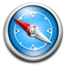 96x96px size png icon of Blue Classic