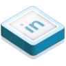 96x96px size png icon of linked in