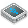 96x96px size png icon of usb