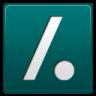 96x96px size png icon of slashdot