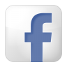 96x96px size png icon of social facebook box white