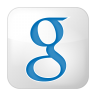 96x96px size png icon of social google box white