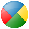 96x96px size png icon of social google buzz button