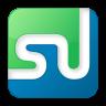 96x96px size png icon of social stumbleupon box color