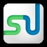 96x96px size png icon of social stumbleupon box white