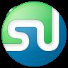 96x96px size png icon of social stumbleupon button color
