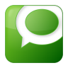 96x96px size png icon of social technorati box green