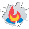 96x96px size png icon of social inside feedburner