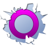 96x96px size png icon of social inside orkut