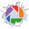 96x96px size png icon of social inside picasa