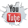 96x96px size png icon of social inside youtube
