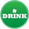 96x96px size png icon of st patricks day drink