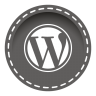 96x96px size png icon of wordpress