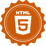 96x96px size png icon of html 5