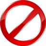 96x96px size png icon of forbidden