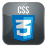 96x96px size png icon of css 3