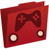 96x96px size png icon of games folder