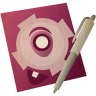 96x96px size png icon of textedit