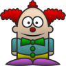 96x96px size png icon of Clown