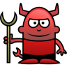 96x96px size png icon of Devil