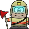 96x96px size png icon of Firefighter